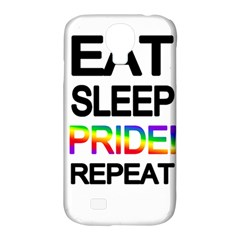 Eat sleep pride repeat Samsung Galaxy S4 Classic Hardshell Case (PC+Silicone)