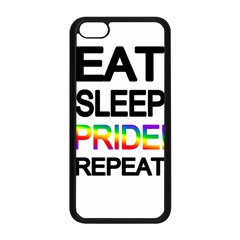 Eat sleep pride repeat Apple iPhone 5C Seamless Case (Black)