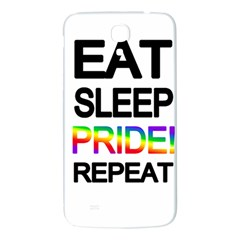 Eat sleep pride repeat Samsung Galaxy Mega I9200 Hardshell Back Case