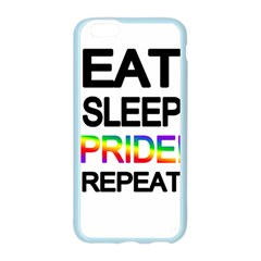 Eat sleep pride repeat Apple Seamless iPhone 6/6S Case (Color)