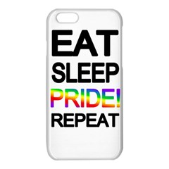 Eat sleep pride repeat iPhone 6/6S TPU Case