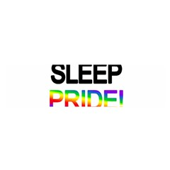 Eat sleep pride repeat Satin Scarf (Oblong)