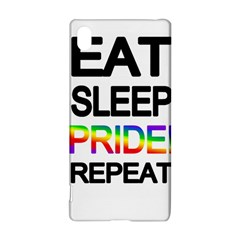 Eat sleep pride repeat Sony Xperia Z3+