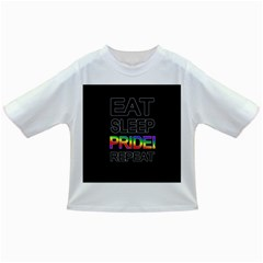 Eat sleep pride repeat Infant/Toddler T-Shirts