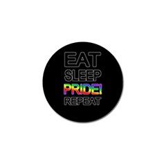Eat Sleep Pride Repeat Golf Ball Marker (4 Pack)