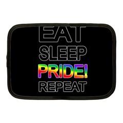 Eat sleep pride repeat Netbook Case (Medium)