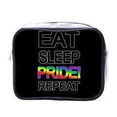 Eat sleep pride repeat Mini Toiletries Bags