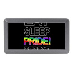Eat sleep pride repeat Memory Card Reader (Mini)