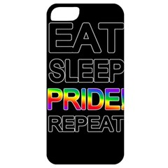 Eat sleep pride repeat Apple iPhone 5 Classic Hardshell Case