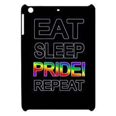 Eat sleep pride repeat Apple iPad Mini Hardshell Case