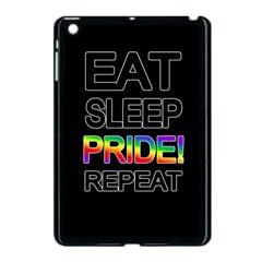 Eat sleep pride repeat Apple iPad Mini Case (Black)