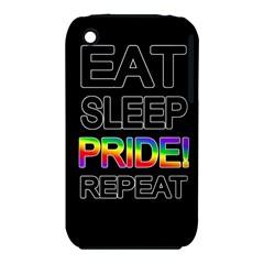 Eat sleep pride repeat iPhone 3S/3GS