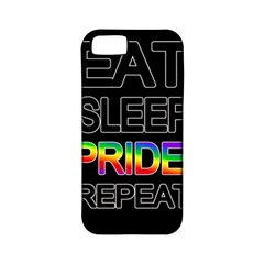 Eat sleep pride repeat Apple iPhone 5 Classic Hardshell Case (PC+Silicone)