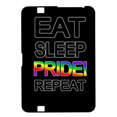 Eat sleep pride repeat Kindle Fire HD 8.9
