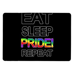 Eat sleep pride repeat Samsung Galaxy Tab 10.1  P7500 Flip Case
