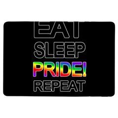 Eat sleep pride repeat iPad Air Flip