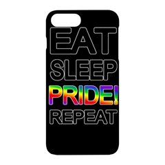 Eat sleep pride repeat Apple iPhone 7 Plus Hardshell Case