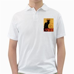 Black cat Golf Shirts