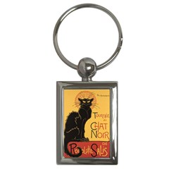 Black cat Key Chains (Rectangle)