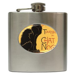 Black cat Hip Flask (6 oz)