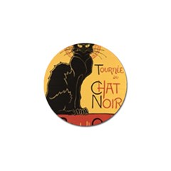 Black cat Golf Ball Marker (10 pack)