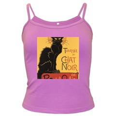Black cat Dark Spaghetti Tank
