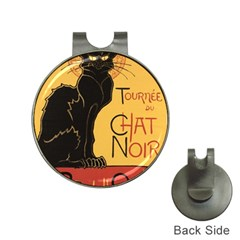 Black cat Hat Clips with Golf Markers