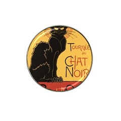 Black cat Hat Clip Ball Marker