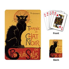 Black cat Playing Card