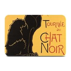 Black cat Plate Mats