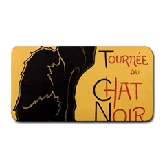 Black cat Medium Bar Mats