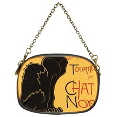 Black cat Chain Purses (One Side)