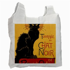 Black cat Recycle Bag (One Side)