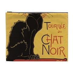 Black cat Cosmetic Bag (XL)