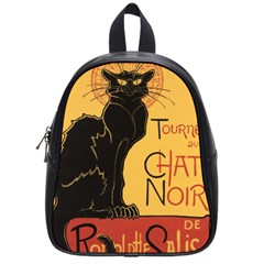 Black cat School Bags (Small)