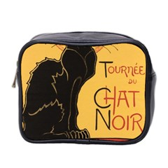 Black cat Mini Toiletries Bag 2-Side