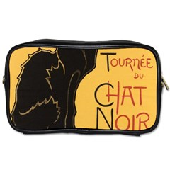 Black cat Toiletries Bags