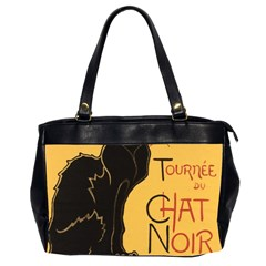 Black cat Office Handbags (2 Sides)