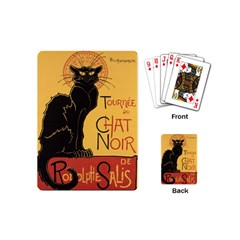 Black cat Playing Cards (Mini)
