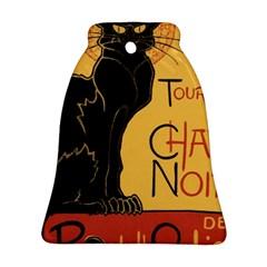 Black cat Ornament (Bell)