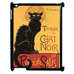 Black cat Apple iPad 2 Case (Black)