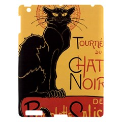 Black cat Apple iPad 3/4 Hardshell Case