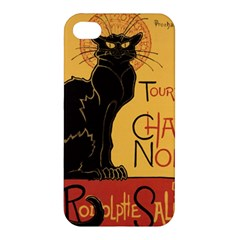 Black cat Apple iPhone 4/4S Premium Hardshell Case