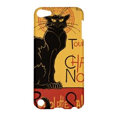 Black cat Apple iPod Touch 5 Hardshell Case