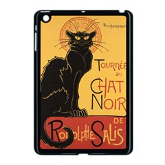 Black cat Apple iPad Mini Case (Black)