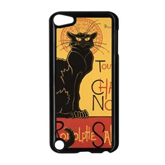 Black cat Apple iPod Touch 5 Case (Black)