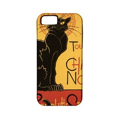 Black cat Apple iPhone 5 Classic Hardshell Case (PC+Silicone)