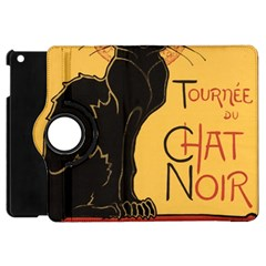Black cat Apple iPad Mini Flip 360 Case