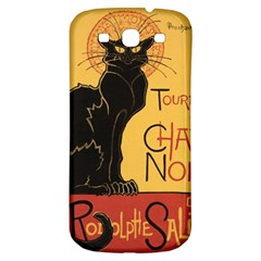 Black cat Samsung Galaxy S3 S III Classic Hardshell Back Case