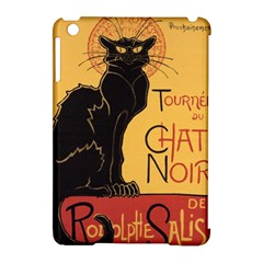 Black cat Apple iPad Mini Hardshell Case (Compatible with Smart Cover)